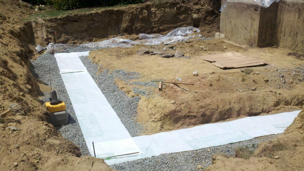 Installing ICF Concrete Footings